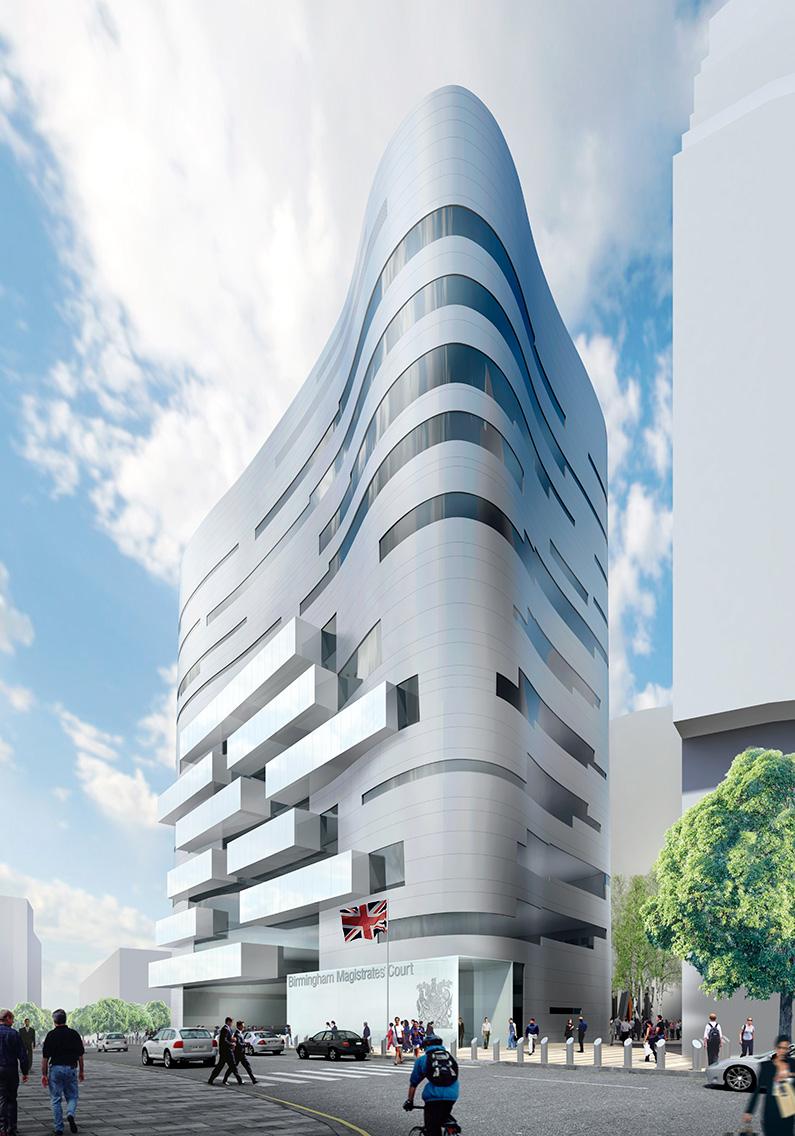 Birmingham Magistrates Court Denton Corker Marshall Architecture Urban Design